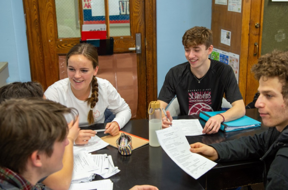 Photo of BECNO students participating in a science project